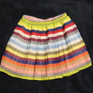 GAP Girls (L-10 years) Multi striped skirt